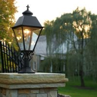 Natural Gas Lighting