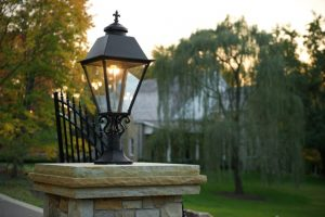 Natural Gas Provides Reliable Elegant Outdoor Lighting