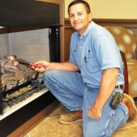Natural gas pilot light service